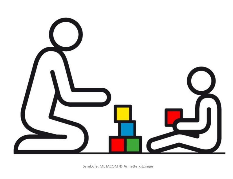 Symbol HausfrühförderungFrühförderung im Kindergarten
